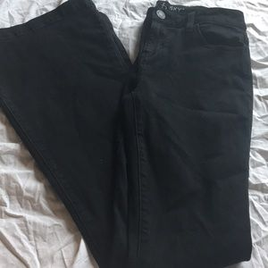 Belle and sky flare black jeans size 2